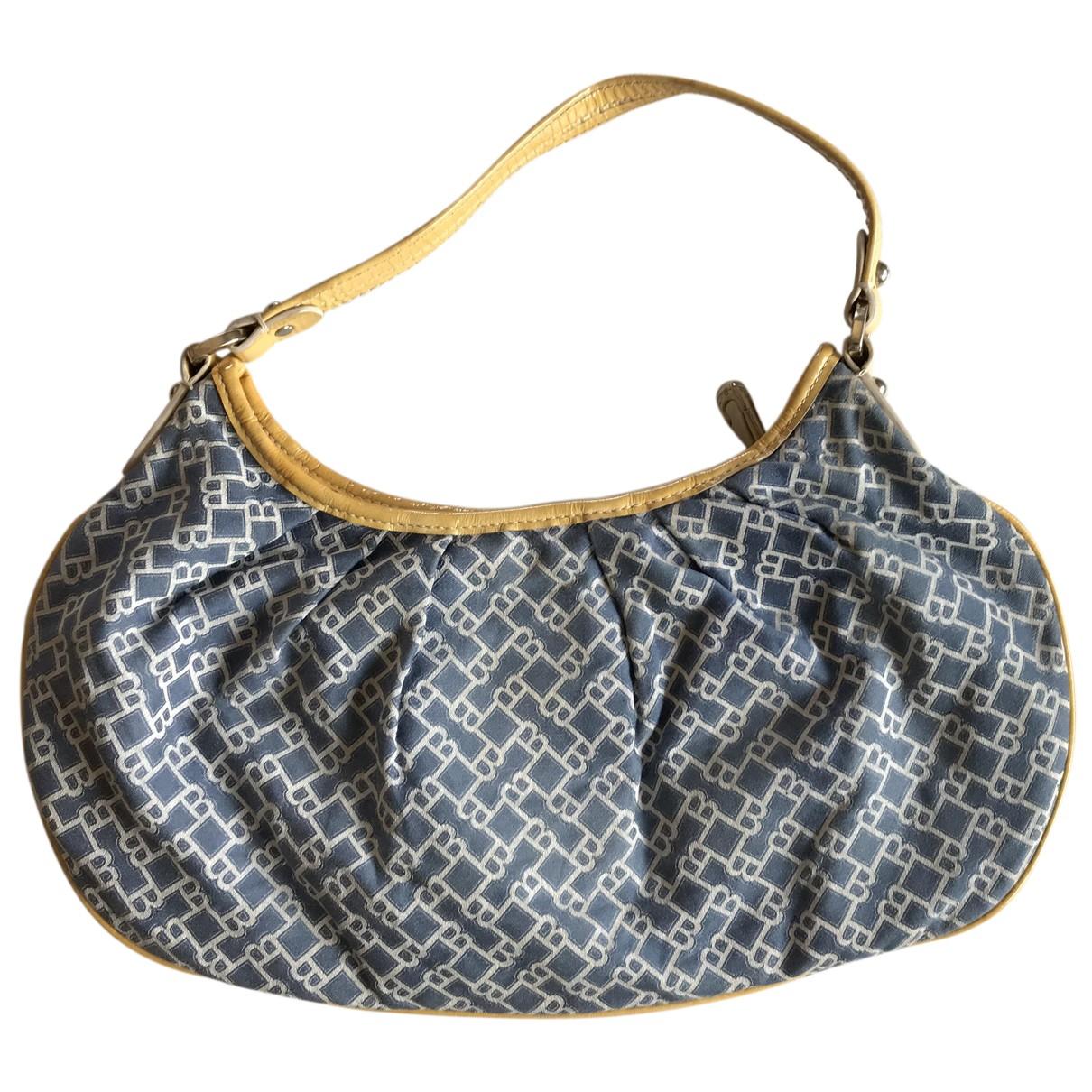 Bally \N Handtasche in  Blau Baumwolle