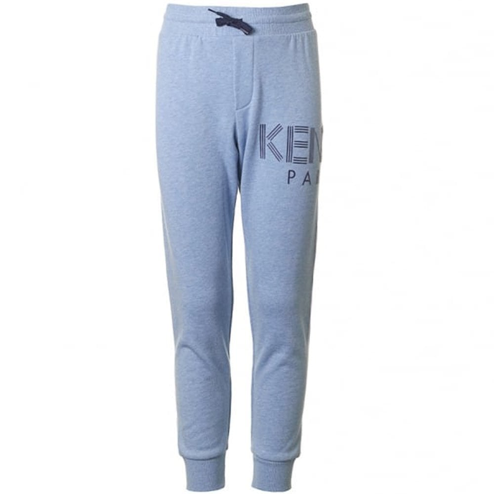 Kenzo Paris Joggers Light Blue Colour: LIGHT BLUE, Size: 10 YEARS