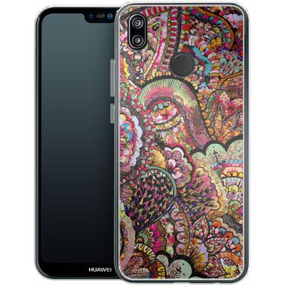 Huawei P20 Lite Silikon Handyhuelle - Her Hair Les Fleur von Bianca Green