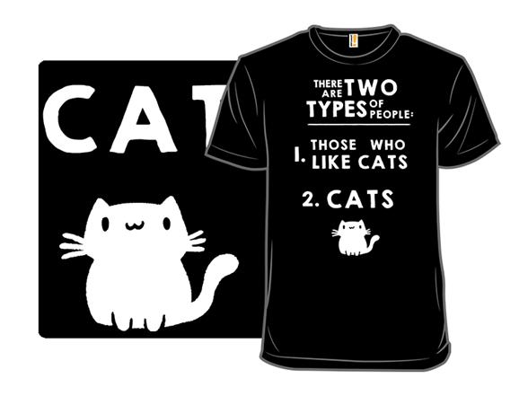 Cat People T Shirt