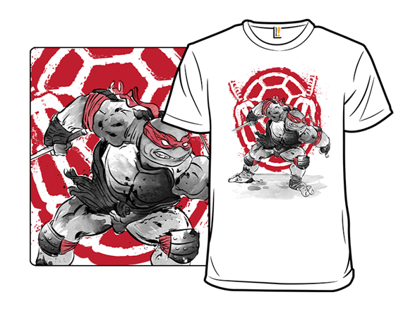 Red Ninja T Shirt