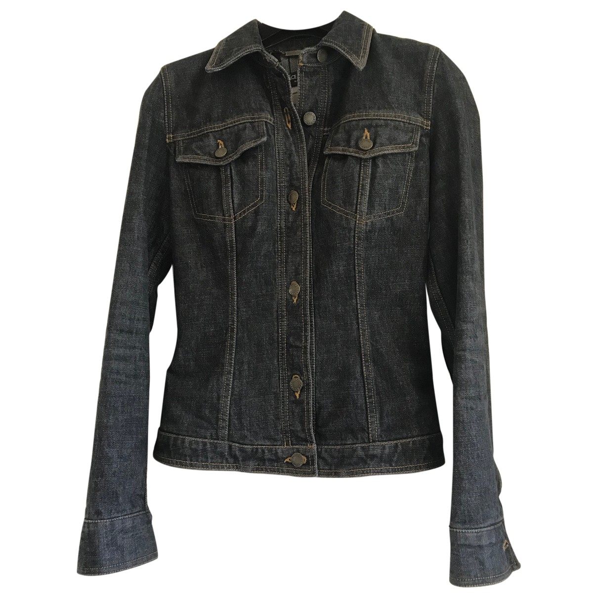 Dolce & Gabbana \N Jacke in  Grau Denim - Jeans
