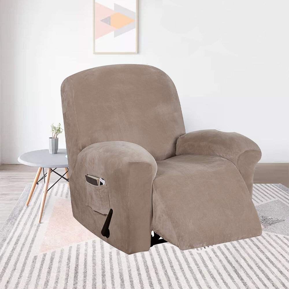 Waterproof Recliner Couch Cover All-inclusive Sofa Cover Seat Elasticity Stretch Anti-slip Furniture Slipcovers Chair Pr