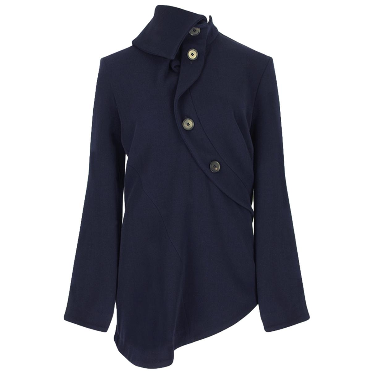 J.w. Anderson \N Navy Wool jacket for Women 38 IT