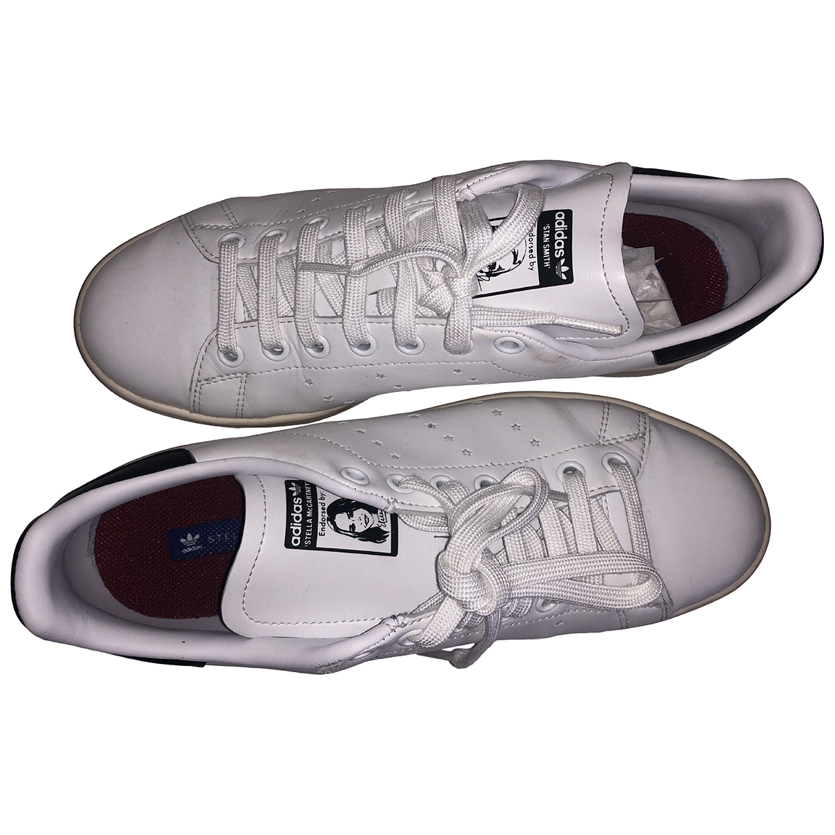 Stella Mccartney Pour Adidas \N White Trainers for Women 7.5 UK