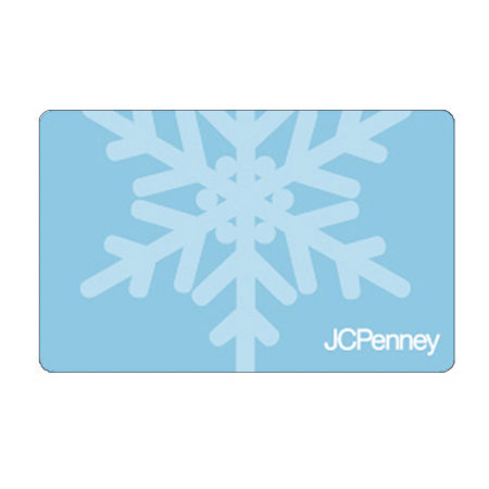 Blue Snow Flake Gift Card, One Size , No Color Family