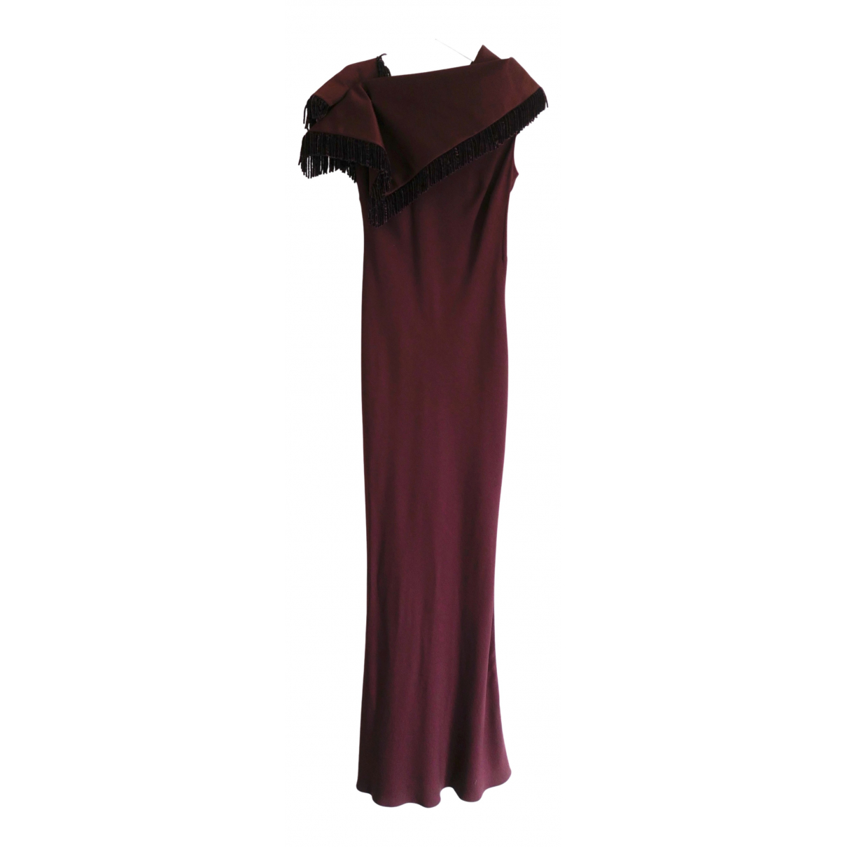 John Galliano N Burgundy dress for Women 40 FR