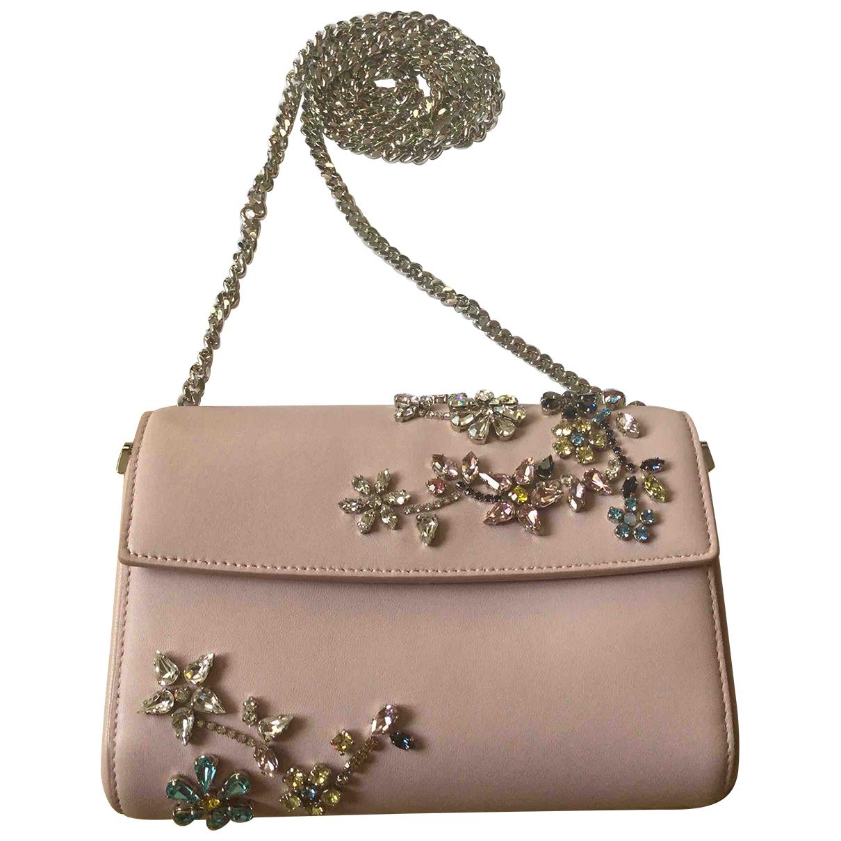 Christian Dior \N Clutch in  Rosa Leder