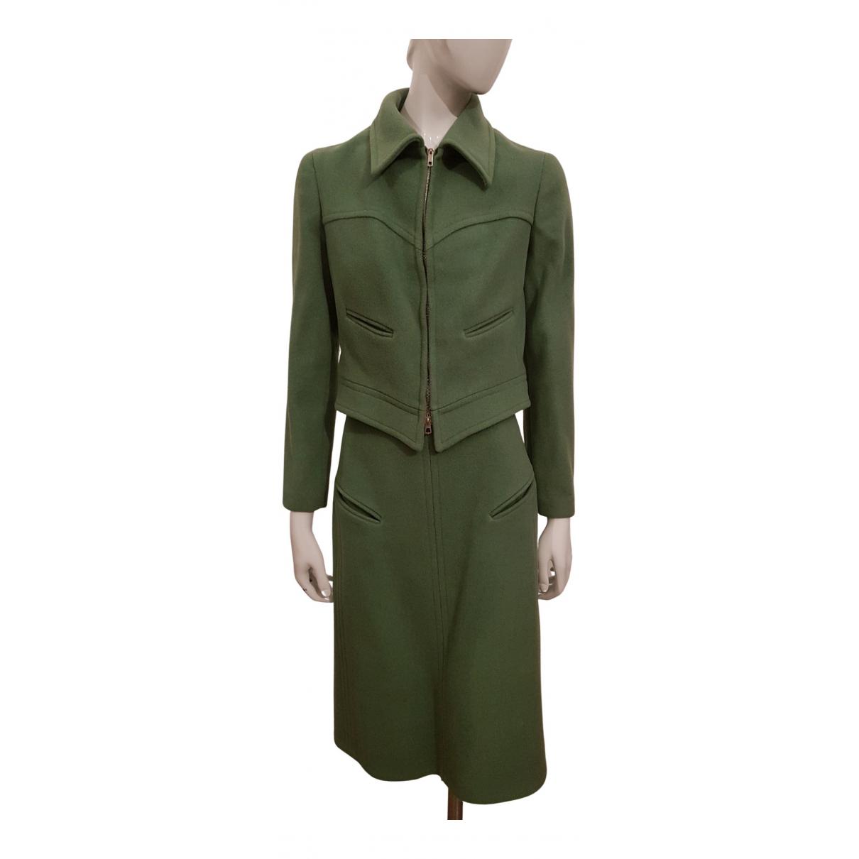 Max Mara - Veste   pour femme en laine - vert