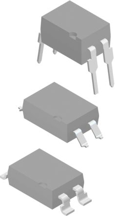 Vishay , SFH6106-3 DC Input Phototransistor Output Optocoupler, Surface Mount, 4-Pin SMD (100)