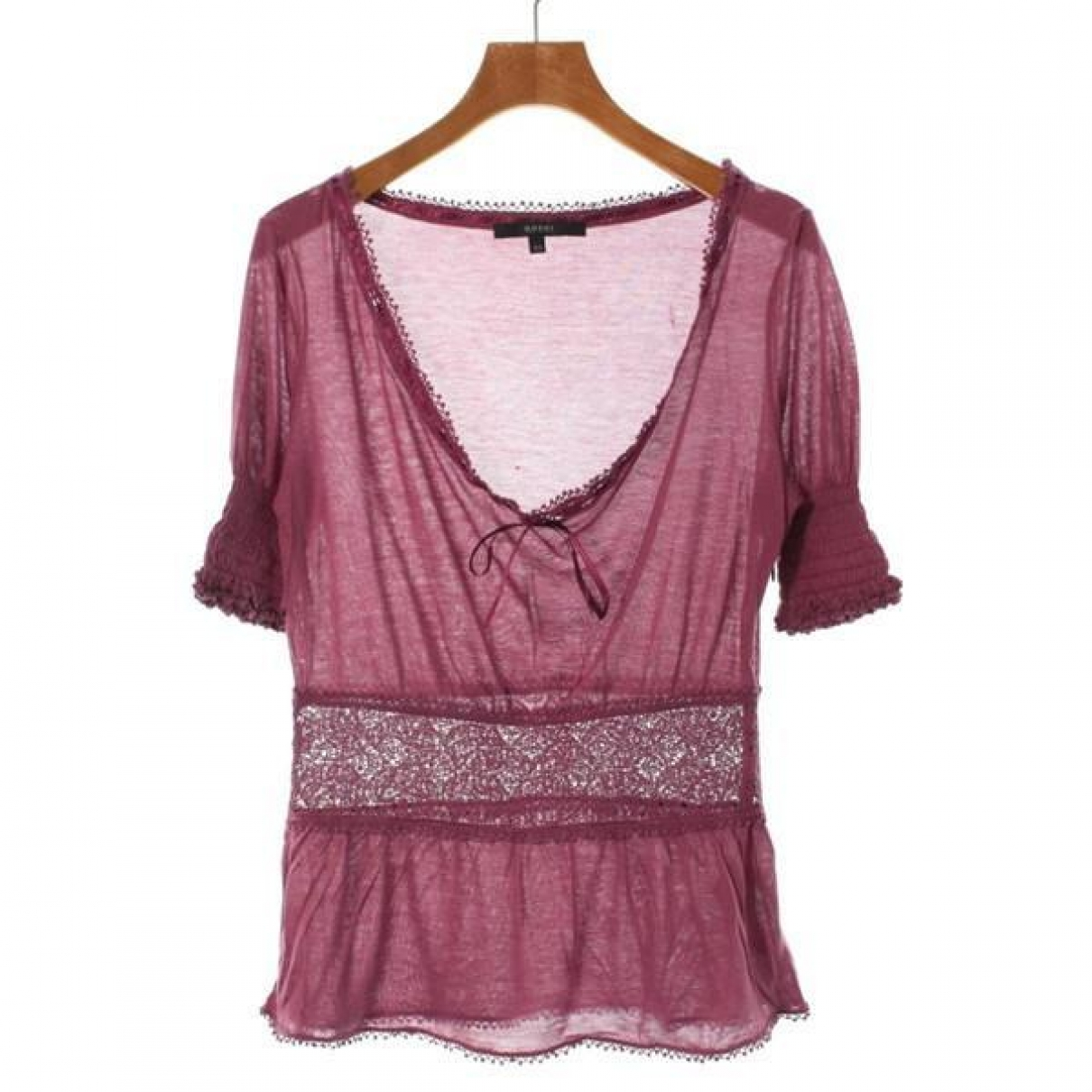 Gucci \N Top in  Rosa Synthetik