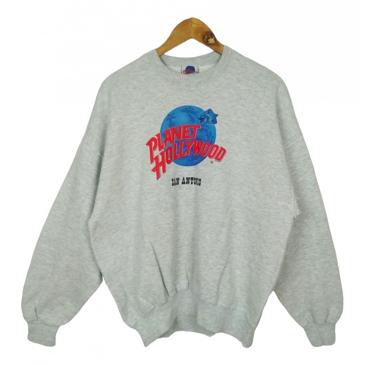 American Vintage \N Pullover.Westen.Sweatshirts  in  Grau Baumwolle