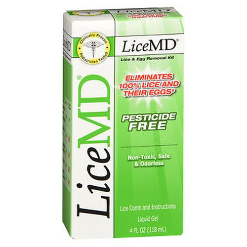 LiceMD Lice & Egg Removal Kit 4 oz by Airborne