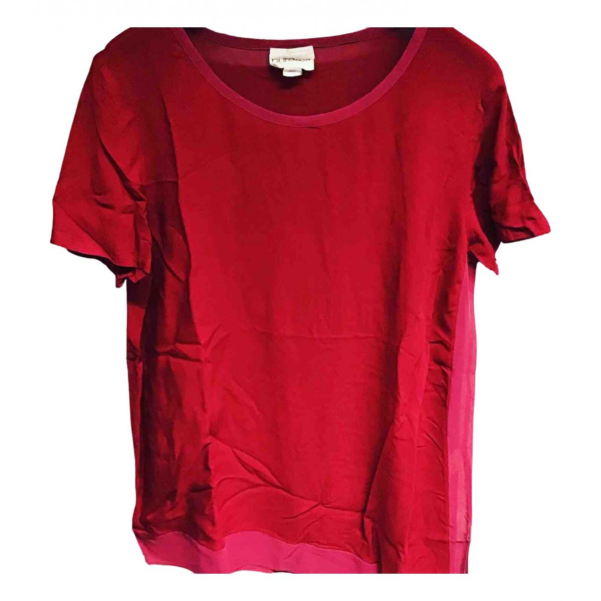 Dkny - Top   pour femme - rouge