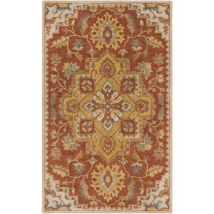 Crowne CRN-6032 8' x 11' Rectangle Traditional Rug in