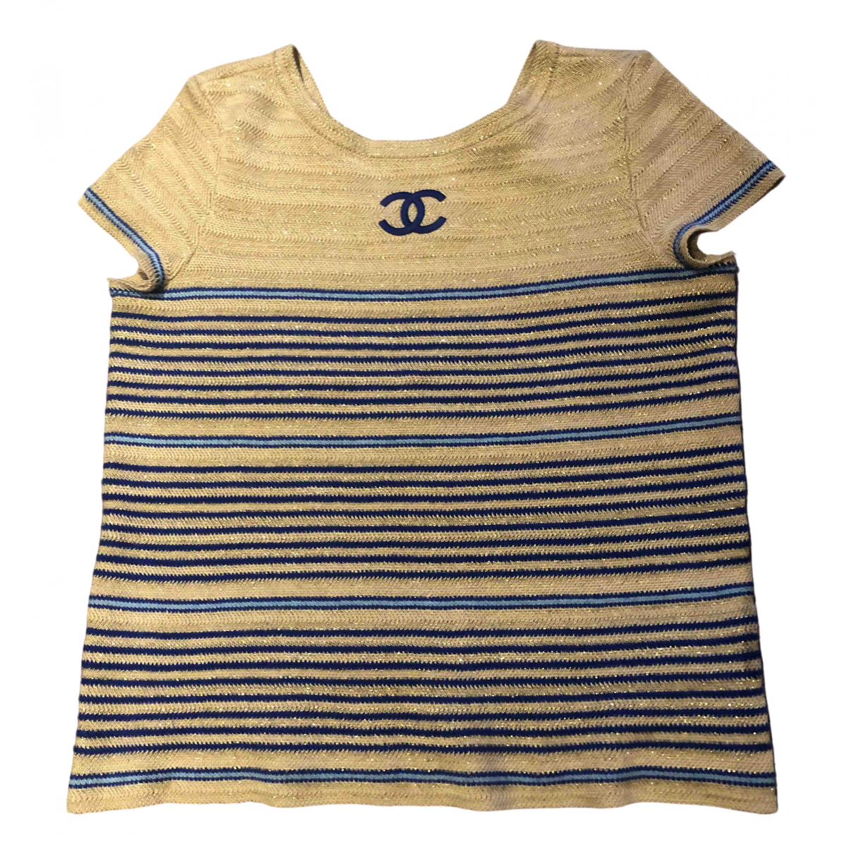 Chanel \N Gold Tweed  top for Women 40 FR