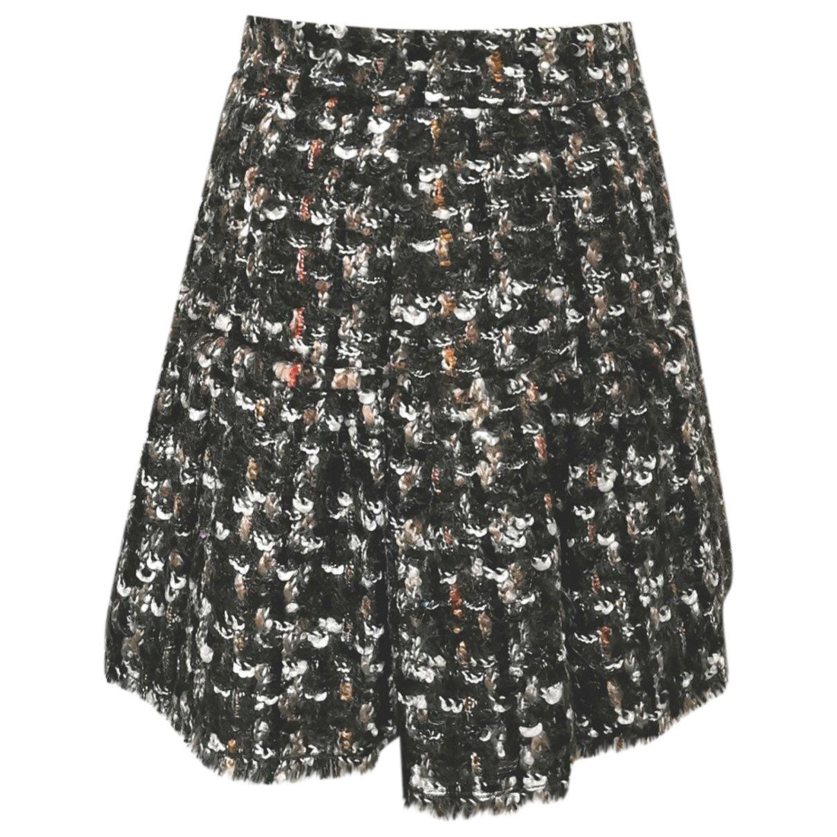 Dolce & Gabbana \N Brown Wool skirt for Women 42 IT