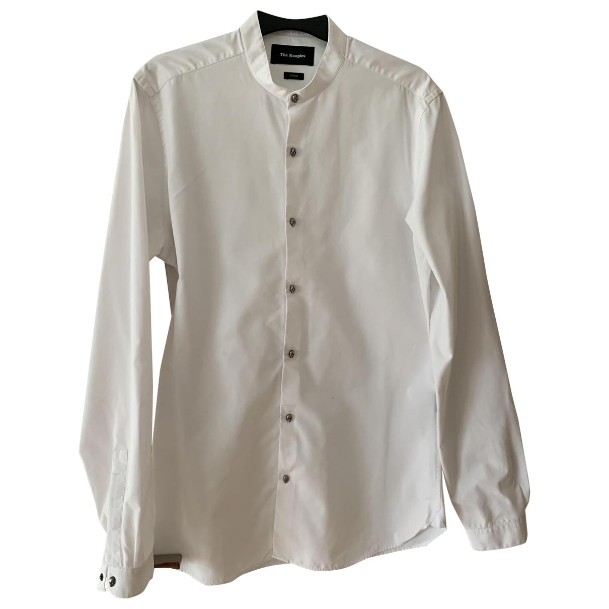 The Kooples \N Hemden in  Weiss Baumwolle
