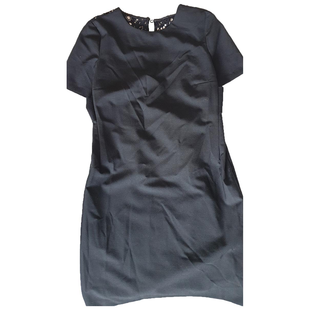 Twin Set N Black Wool dress for Women XS International