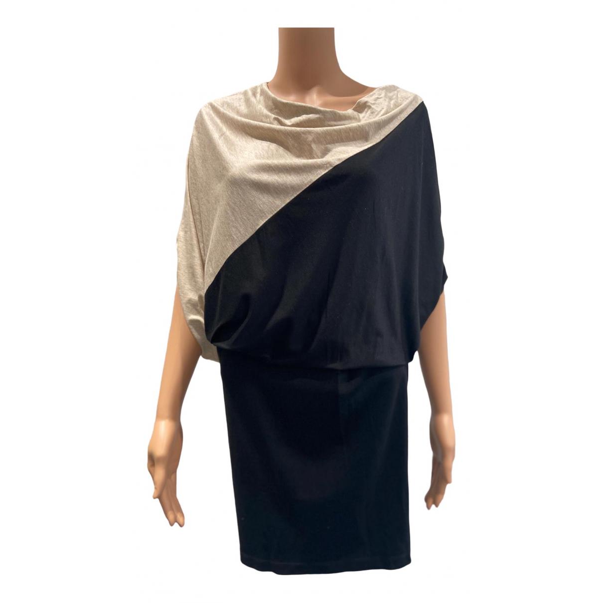 Atsuro Tayama \N Kleid in  Schwarz Baumwolle