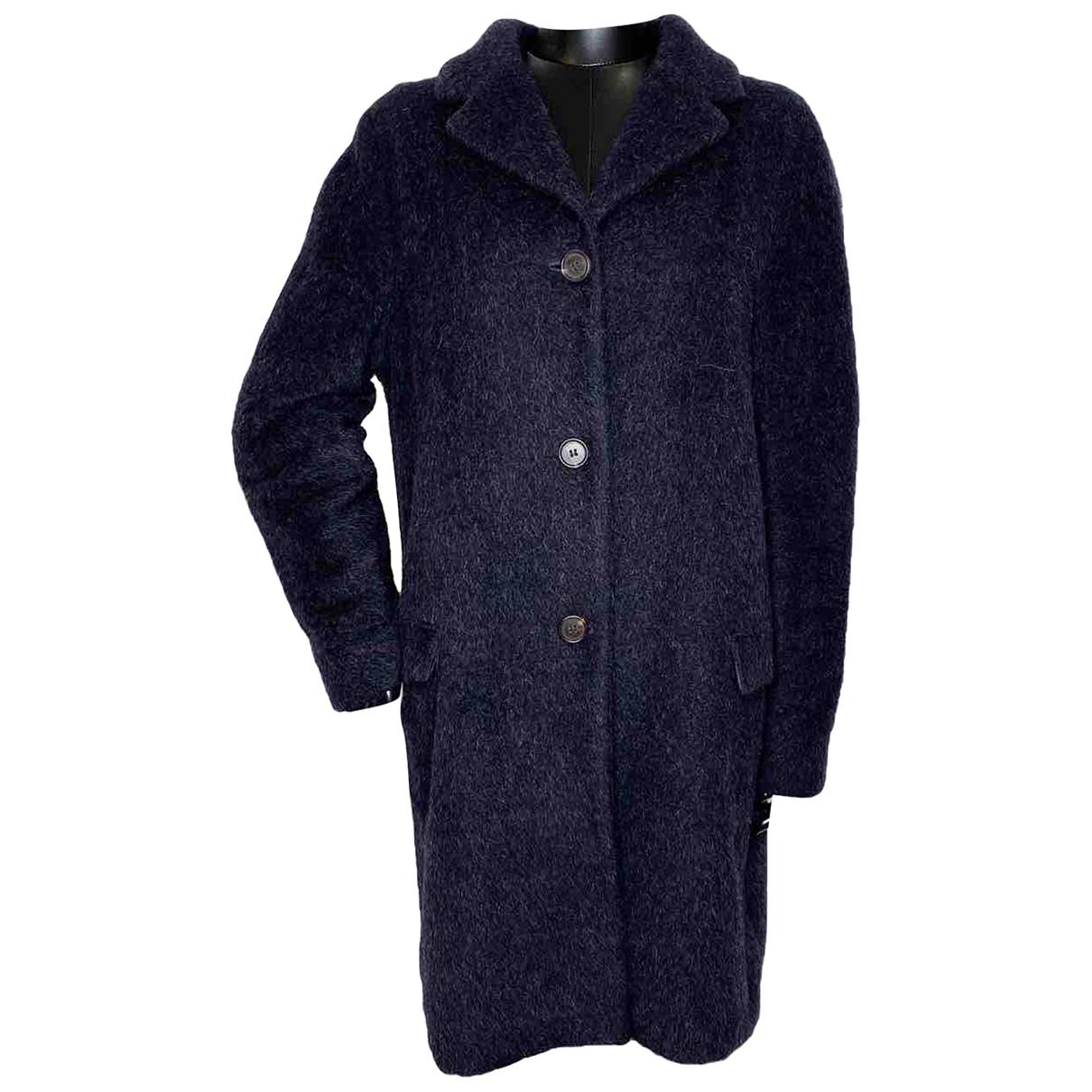 Max Mara s - Manteau   pour femme en laine - marine