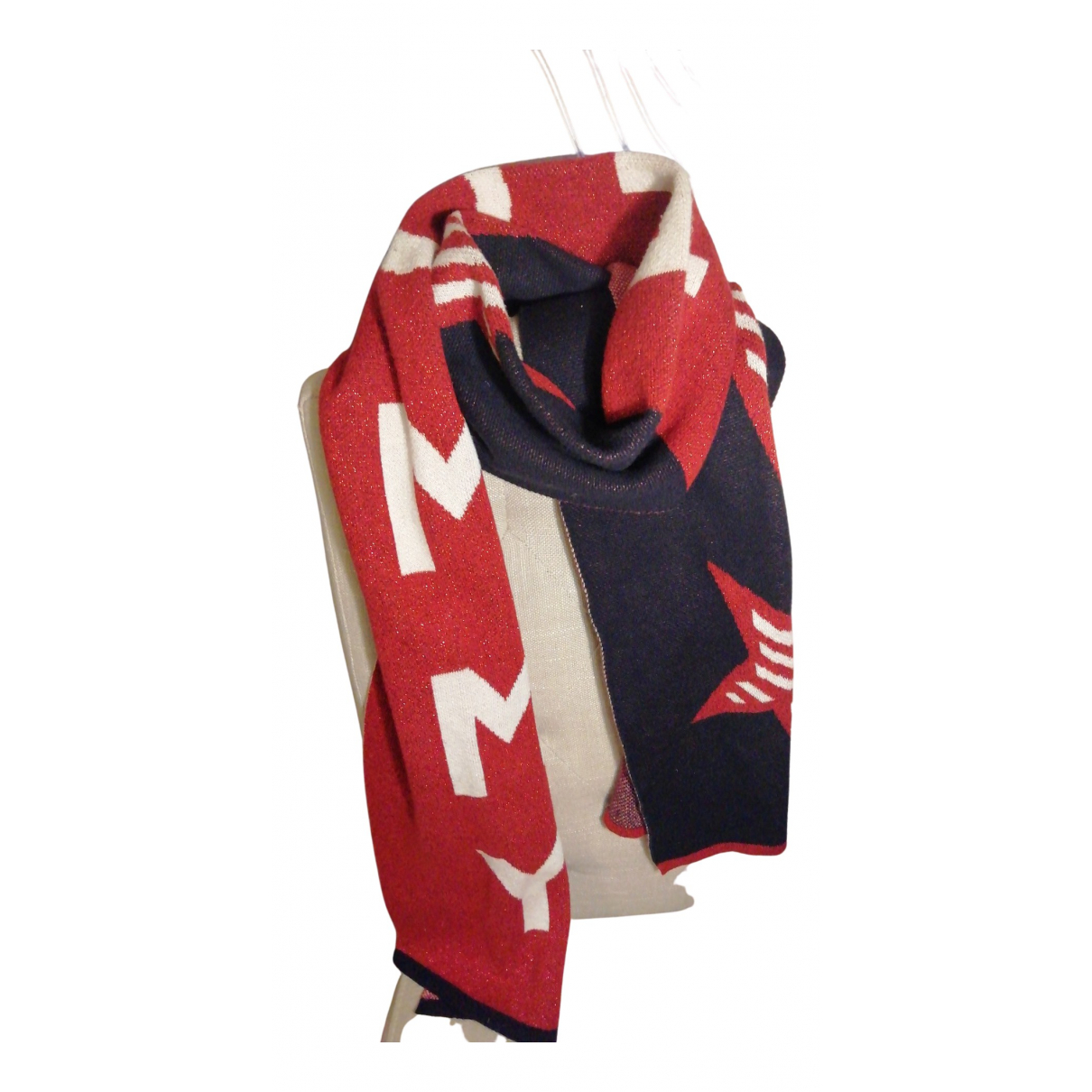 Tommy Jeans N Multicolour Cotton scarf for Women N