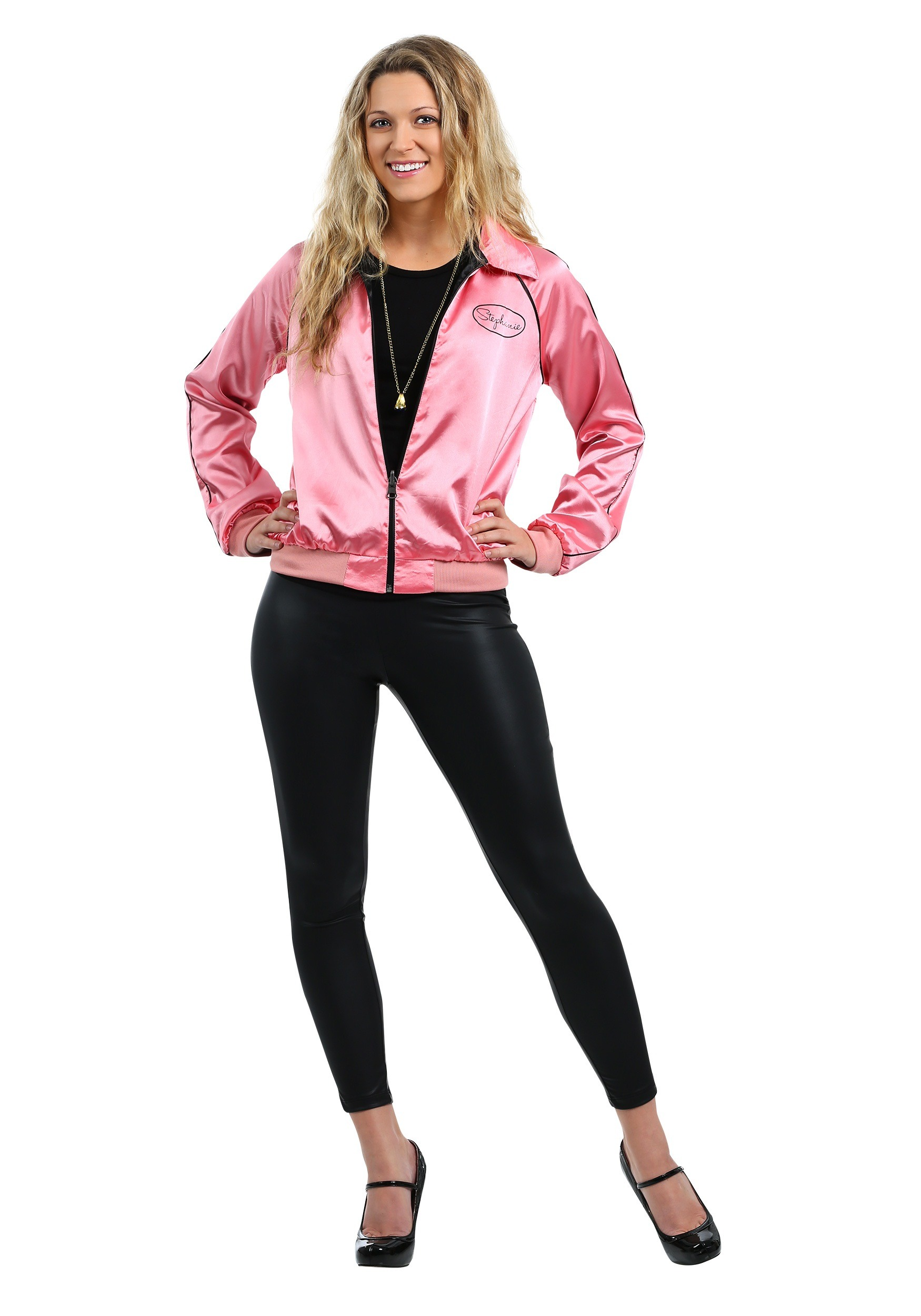 Stephanie's Pink Ladies Jacket Costume from Grease 2