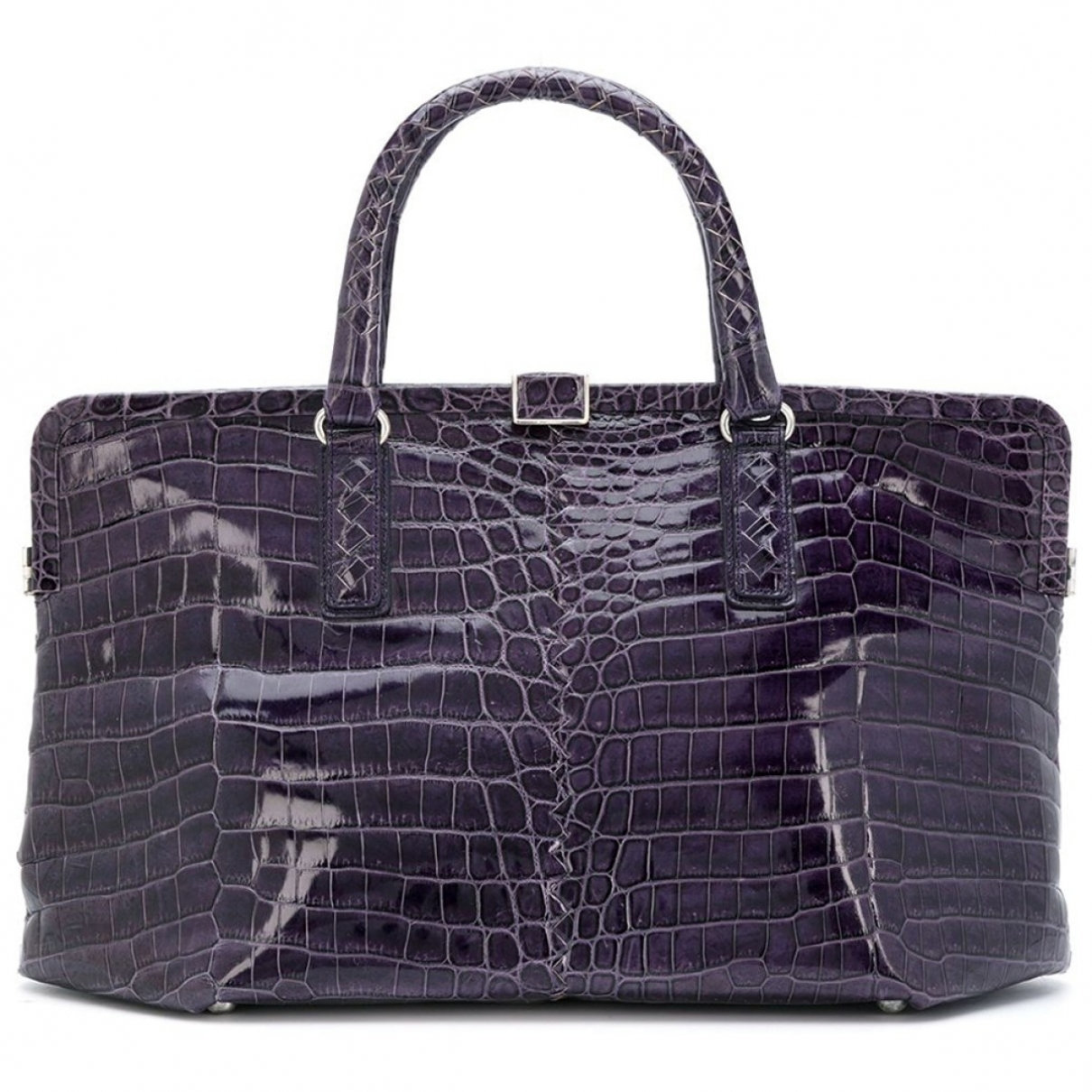Bottega Veneta \N Purple Crocodile handbag for Women \N
