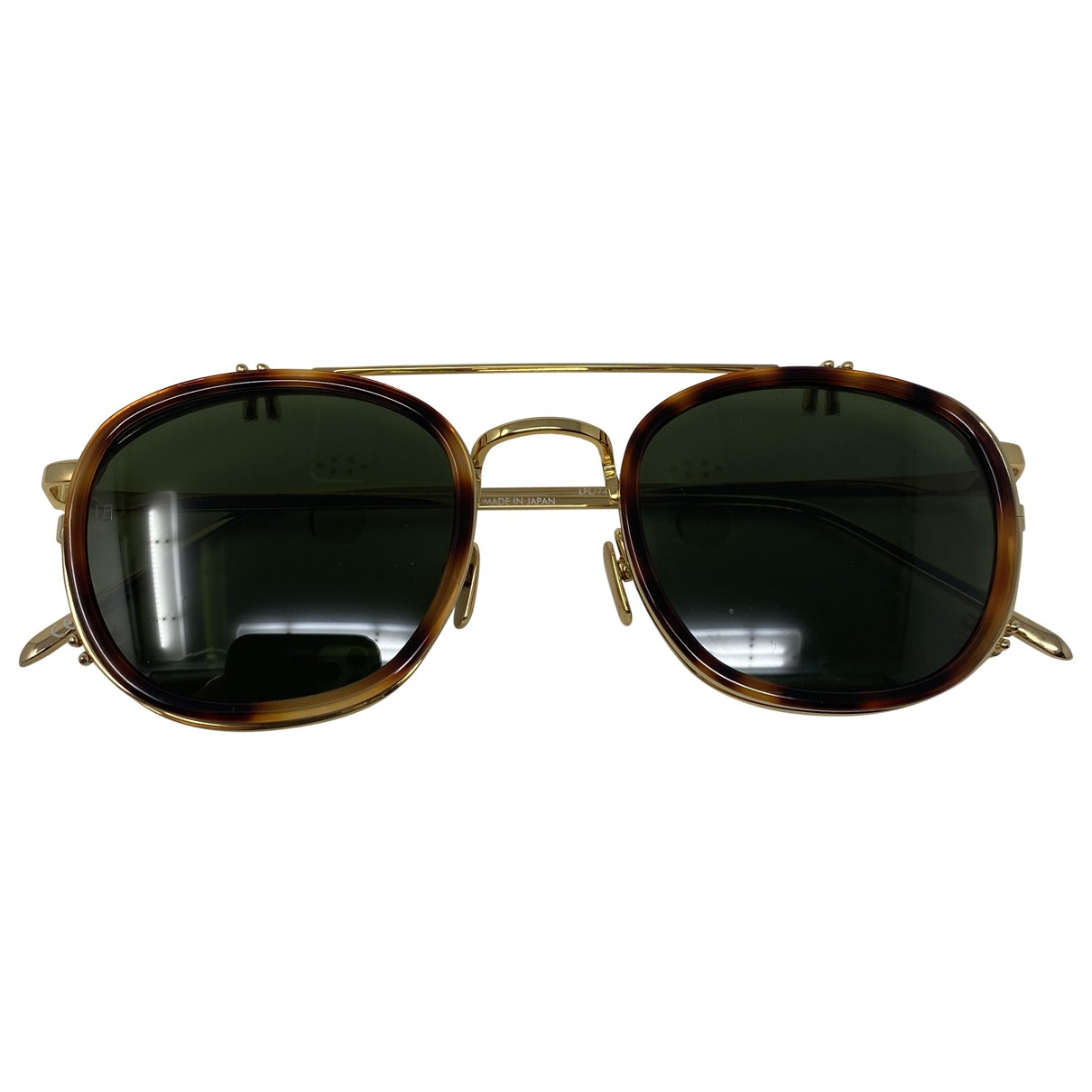 Linda Farrow \N Sonnenbrillen in  Gold Kunststoff