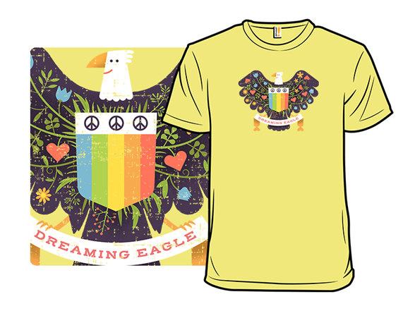 Dreaming Eagle T Shirt