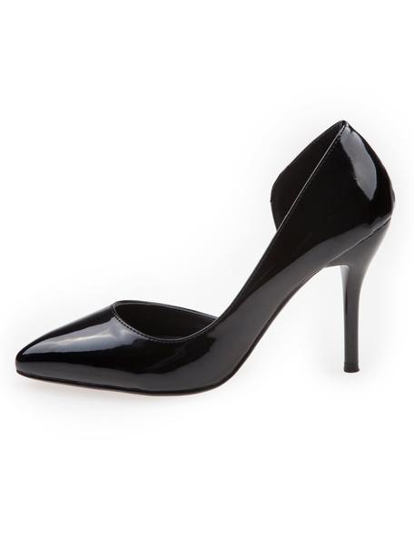 Milanoo Zapatos puntiagudos de tacon stiletto
