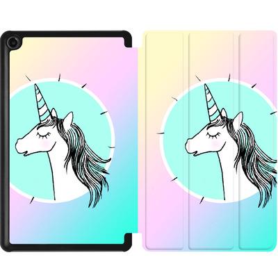 Amazon Fire 7 (2017) Tablet Smart Case - Happiness Unicorn von caseable Designs