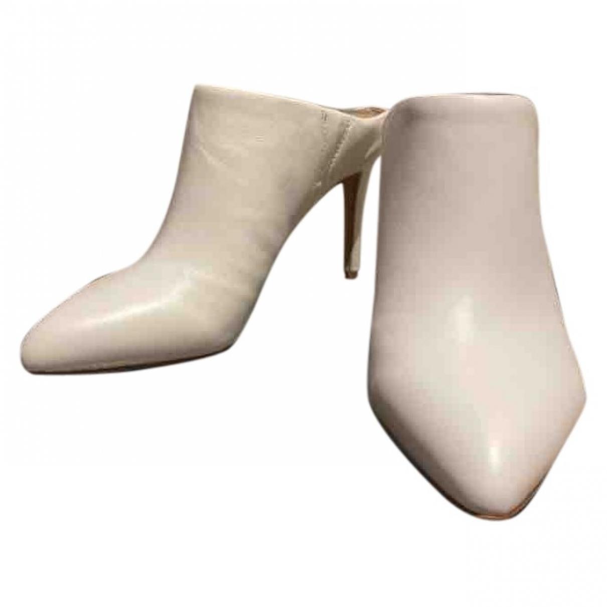 Sam Edelman - Escarpins   pour femme en cuir - blanc