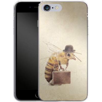Apple iPhone 6 Plus Silikon Handyhuelle - Worker Bee von Eric Fan