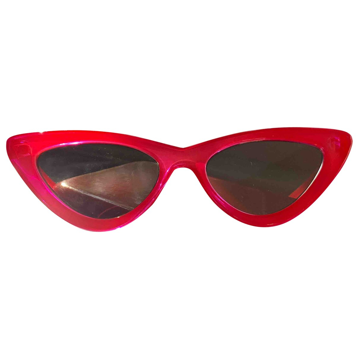 Le Specs \N Red Sunglasses for Women \N