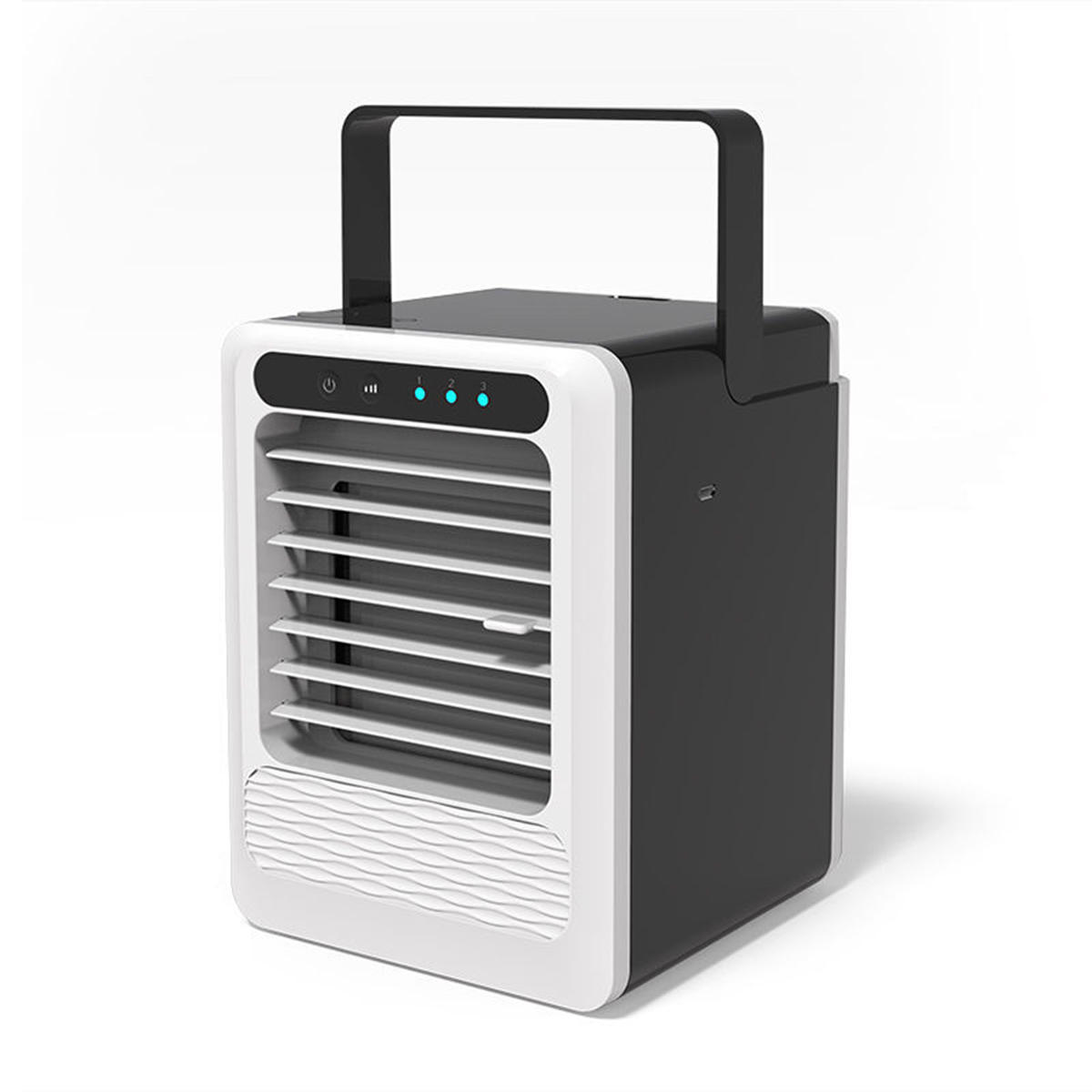 3 Speeds Personal Air Cooler Moisturizing Portable Air Conditioner Fan