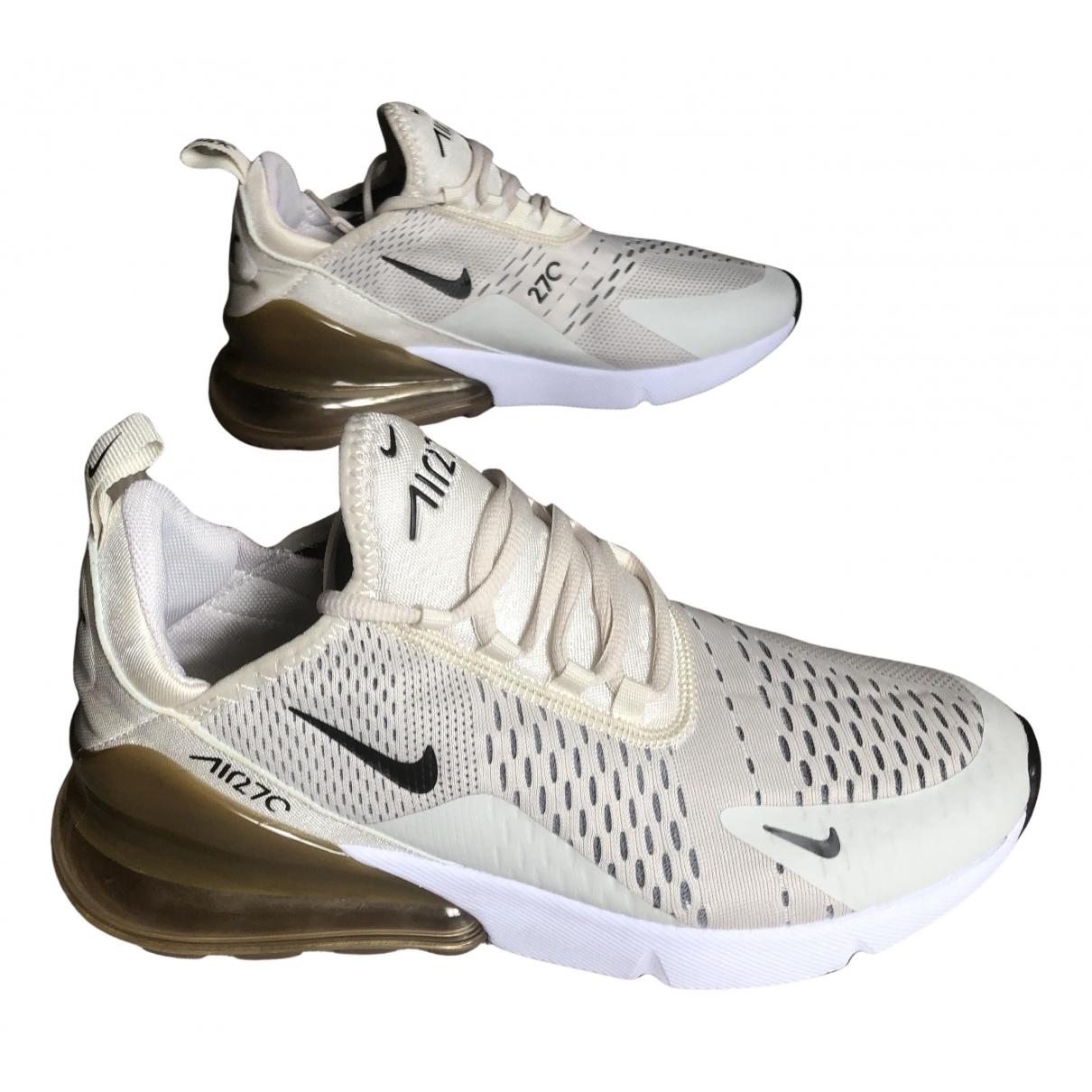Nike - Baskets Air Max 270  pour homme en toile - noir