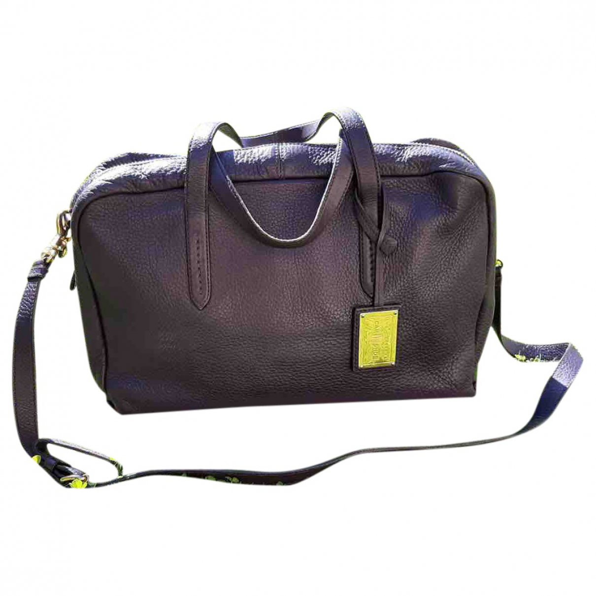 Carshoe N Purple Leather handbag for Women N