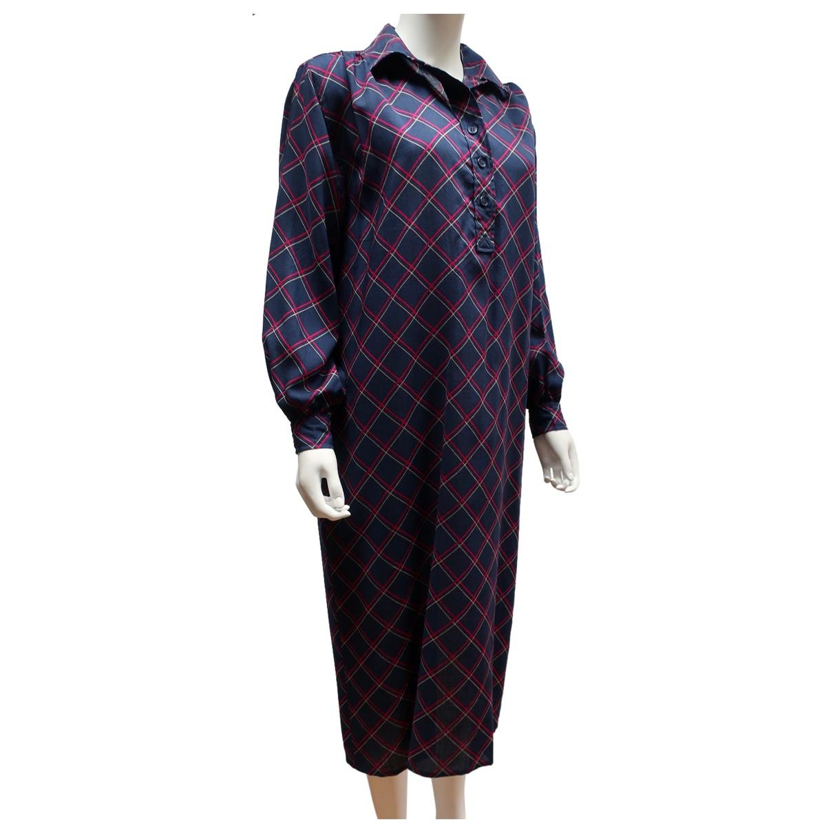 Maxi vestido de Lana Saint Laurent