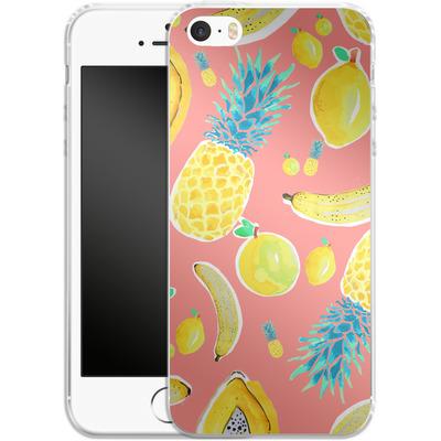 Apple iPhone 5s Silikon Handyhuelle - Fruit Love von Mukta Lata Barua