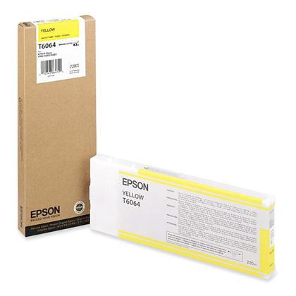 Epson T606400 cartouche d'encre originale jaune