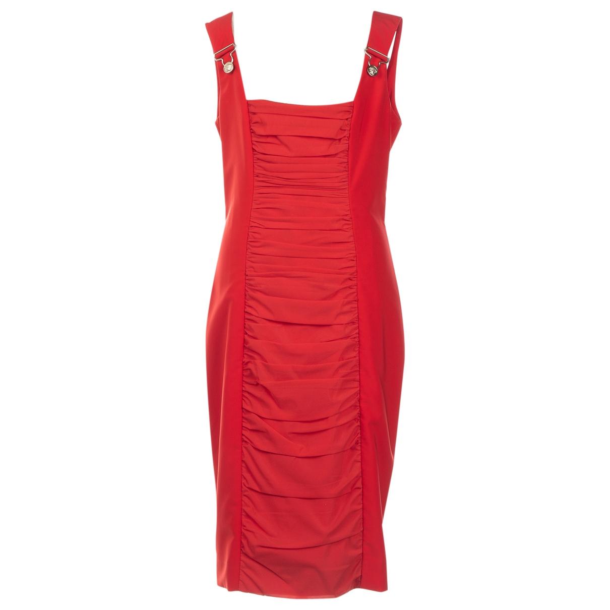 Versace \N Kleid in  Rot Polyester
