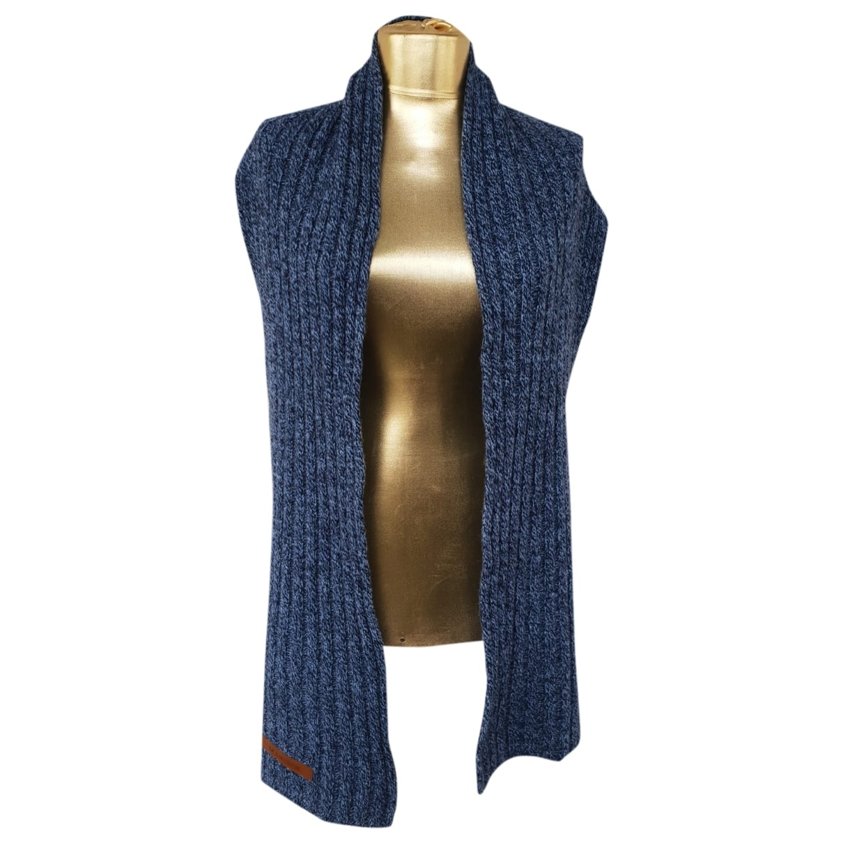 Versace Jeans \N Tuecher, Schal in  Blau Leinen