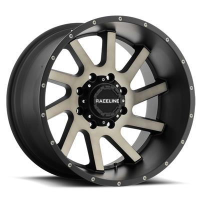 Raceline Wheels Twist, 20x9 with 8x170 Bolt Pattern - Dark Tint - 932DM-29081-00