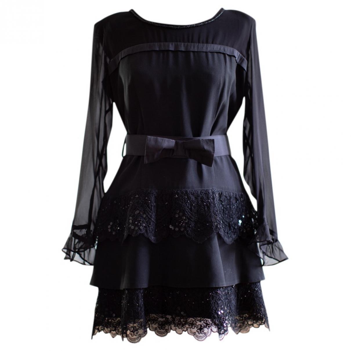 Maria Grazia Severi \N Black dress for Women 44 IT