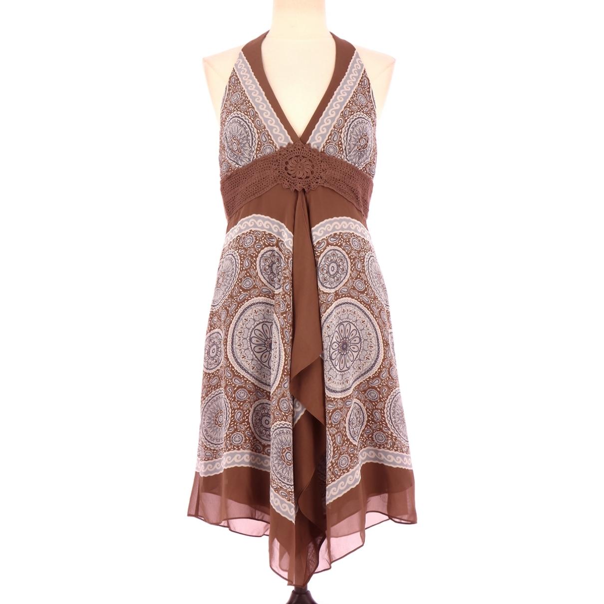 Vestido de Seda Bcbg Max Azria
