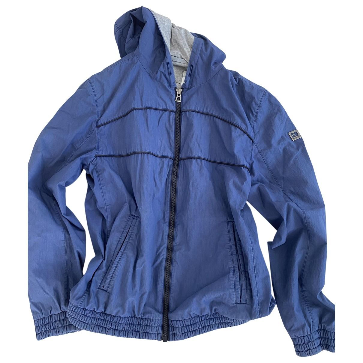Boss \N Blue Cotton jacket  for Men 52 FR