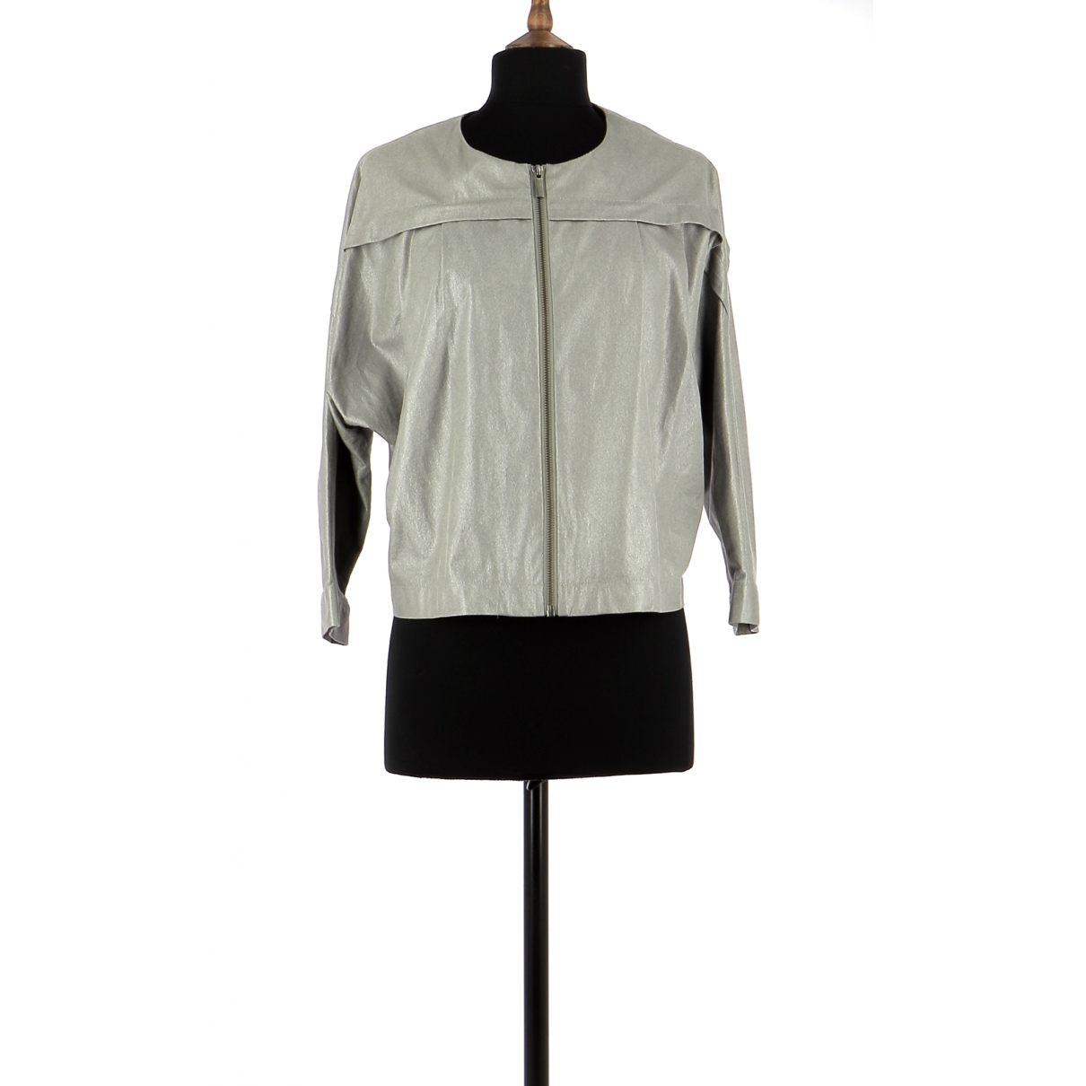 Non Signé / Unsigned \N Grey jacket for Women S