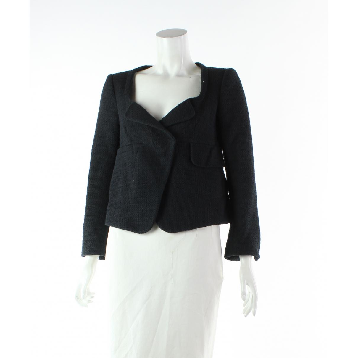 Carven \N Black Cotton jacket for Women 36 FR