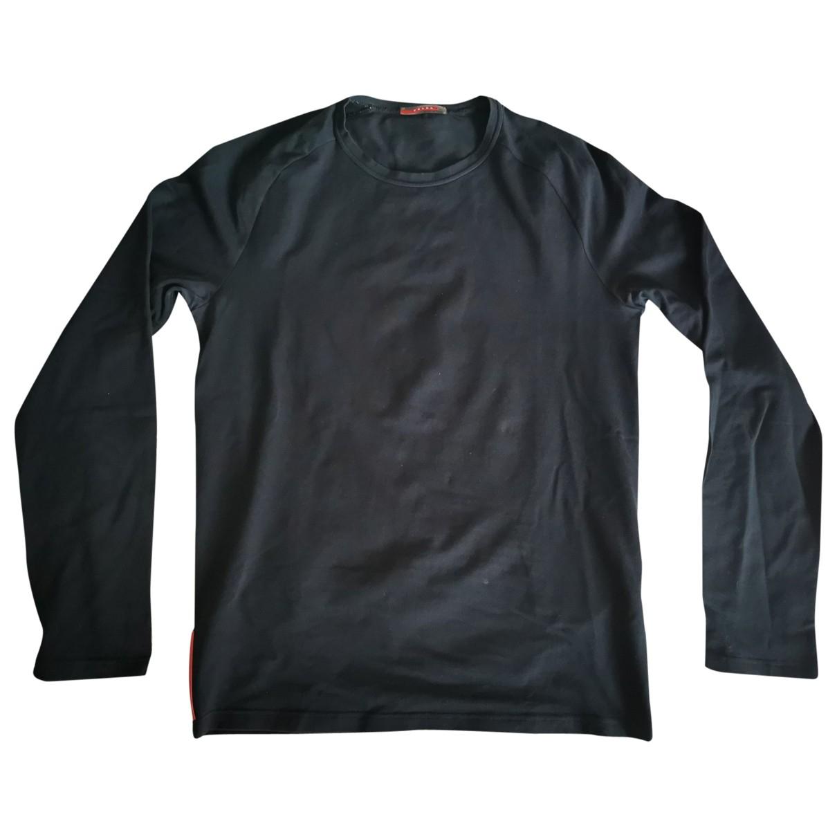 Prada - Pulls.Gilets.Sweats   pour homme en coton - noir